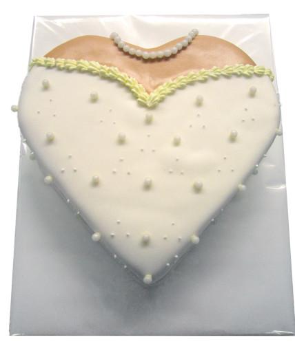 Die Braut Herztorte