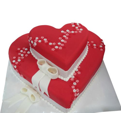 Herz torte geburtstag