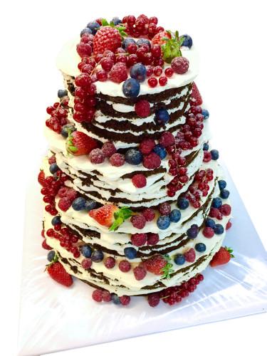 Naked Cake Hochzeitstorten Cafe Conditorei Albring Rudel